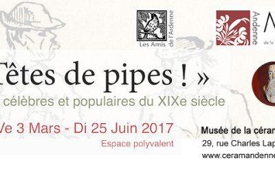 Musée de la céramique – Exposition « Têtes de pipes ! »