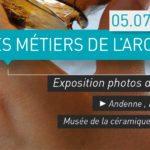 Musée de la céramique – Exposition en plein air «Les métiers de l'archéologie»