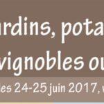 Jardins, potagers & vignobles ouverts 2017