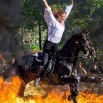 Spectacle équestre gratuit «Les Cavaliers du Sud»  dans le parc du Château de Seilles