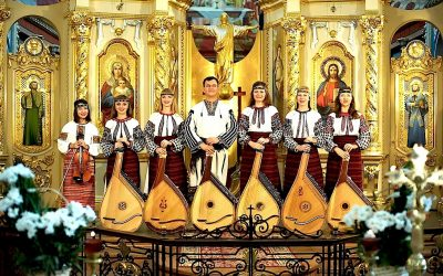 Concert des «Cordes et Voix Magiques d'Ukraine» – Collégiale Sainte-Begge