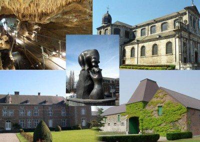 Le grand tour d'Andenne : Fermes, châteaux et églises romanes