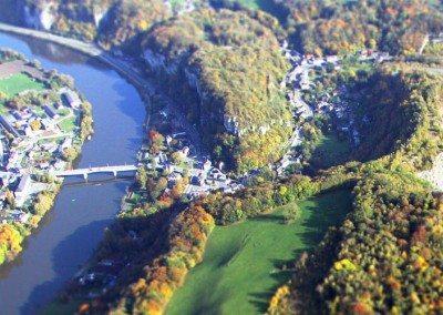 Namur, Vallée et plateau