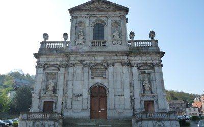 Collégiale Sainte-Begge – Début du chantier de restauration
