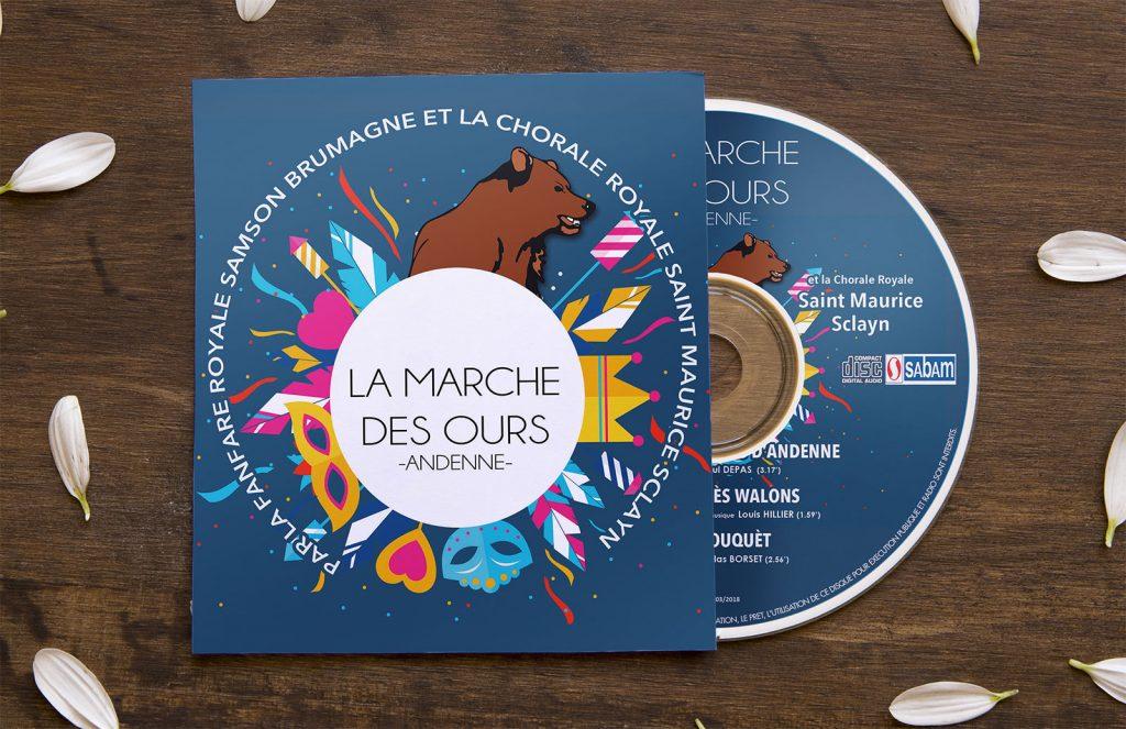 Le CD de la «Marche du Carnaval des Ours d'Andenne» en vente!