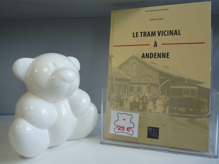 «Le tram vicinal à Andenne» en vente à l'Office du Tourisme!